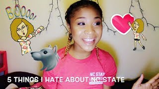NC State ~ Love, Hate, and Q&A!