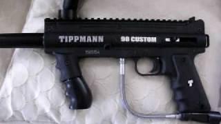 Tippman 98 Custom Platinum Power Pack overview