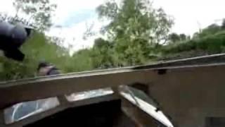 Boat crash on the River Thames