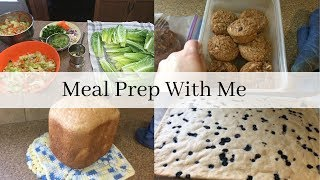 Meal Prep With Me | Getting Ready For The Week