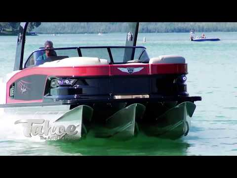 2018 GRAND TAHOE | Our Flagship Luxury Pontoon | Tahoe Pontoon Boats