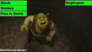Shrek & Friends Potion Factory Escape with healthbars