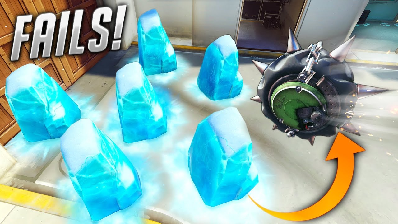 100 WORST FAIL MOMENTS of Overwatch thumbnail