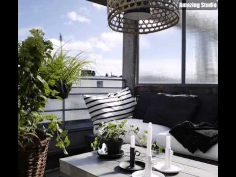 balkonm bel balkon versch nern balkon deko ideen balkon gestalten balkontisch holz youtube. Black Bedroom Furniture Sets. Home Design Ideas