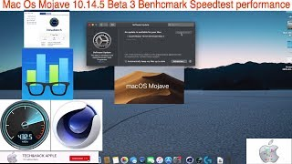 Mac Os Mojave 10.14.5 Beta 3 Benhcmark Speedtest performance