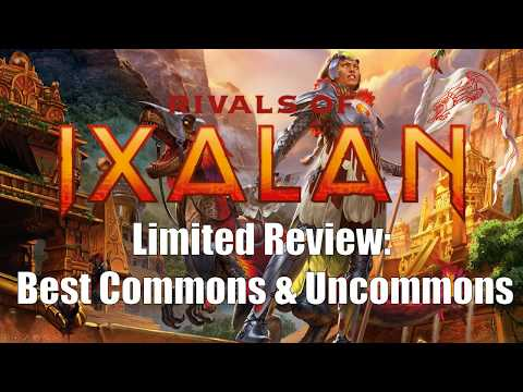 The Best Commons & Uncommons in Rivals of Ixalan Limited