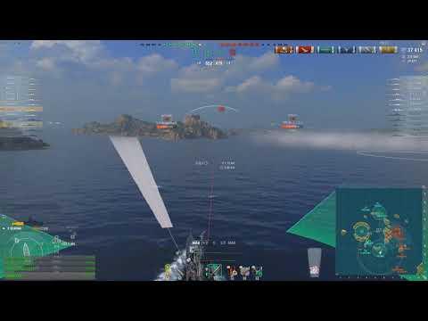 World of Warships - Deep inside a RADAR nest