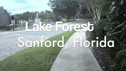 Lake Forest Community Tour, Sanford, Florida (HD POV)