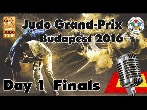 Judo Grand-Prix Budapest 2016: Day 1 - Final Block