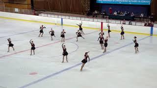 """Команда """" МИЛЛЕНИУМ""""  Синхронное фигурное катание на коньках  2018."""