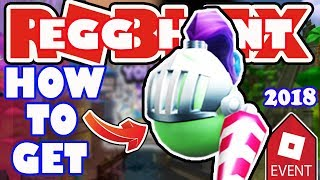 [EVENT] How To Get the Good Knight Egg - Roblox Egg Hunt 2018 - Merlin's Swamp from Wonderland