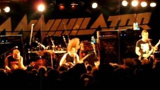 Annihilator - Betrayed - Live @ Batschkapp Frankfurt - 11.10.2010