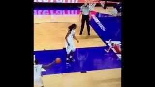 So Disrespectful: Kansas State Forward Brandon Bolden Destroys S. Utah Guard With A Filthy Block!