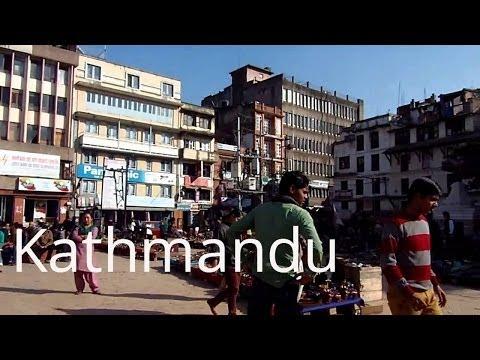 Kathmandu outdoor market at Durbar Square