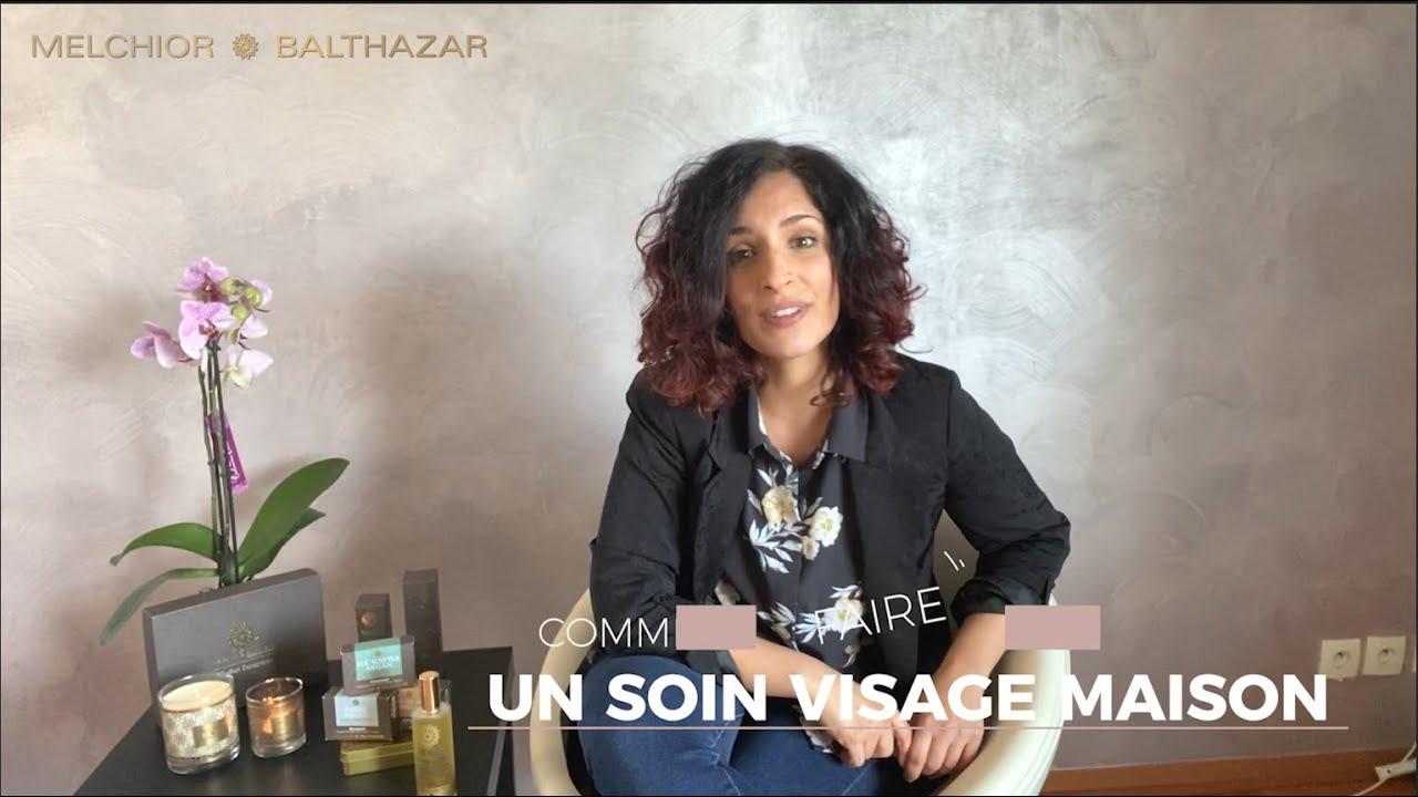 Comment faire un soin visage Maison pour prendre soin de sa peau - DIY - YouTube