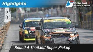 [TH] Highlights Thailand Super Pickup : Round 4 @Bangsaen Street Circuit,Chonburi