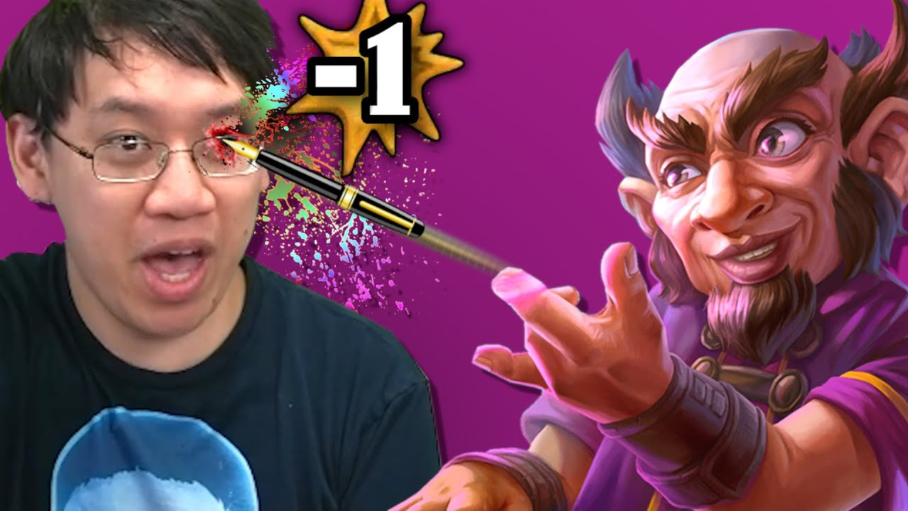 Flinging Pens at Fools w/ Mighty Pen Flinger Warrior! | Scholomance Academy | Hearthstone