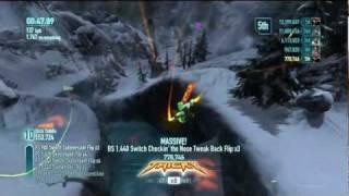 SSX (2012) Xbox 360 HD Gameplay Trick It! Mount Wakefield: Bulldog 14.5 million point run