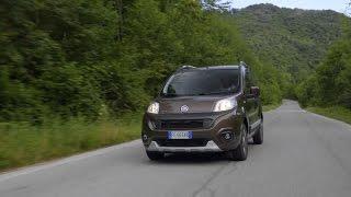 Fiat qubo driving black tr