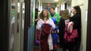 BSU's Residence Hall Trick-or-Treating Thumbnail