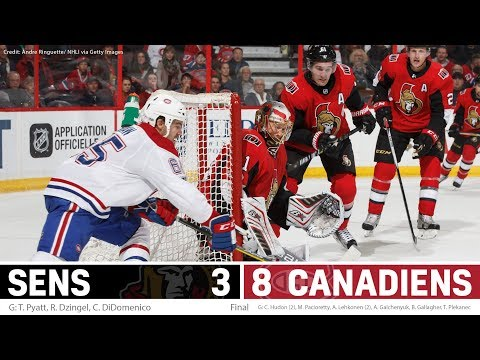 Oct 30: Sens vs. Canadiens - Players Post-game Media