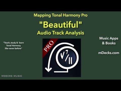 Beautiful (Aguilera) Harmonic Analysis Music Education Video