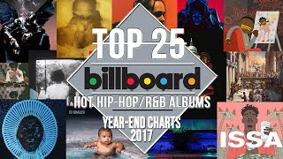 Baixar Top 25 • Best Billboard Hip-Hop/R&B Albums of 2017 | Year-End Charts