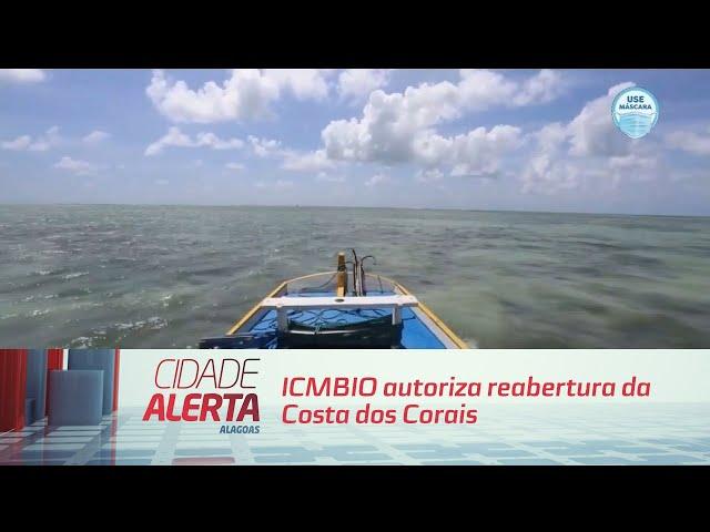 ICMBIO autoriza reabertura da Costa dos Corais