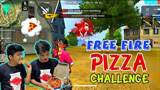 Free Fire Rank Match || PIZZA CHALLENGE || Duo Vs Squad 18 KILLS - TWO-SIDE GAMERS