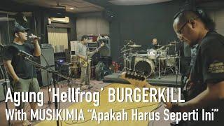 Download Mp3 Agung 'hellfrog' Burgerkill Rehearsal With Musikimia 'apakah Harus S