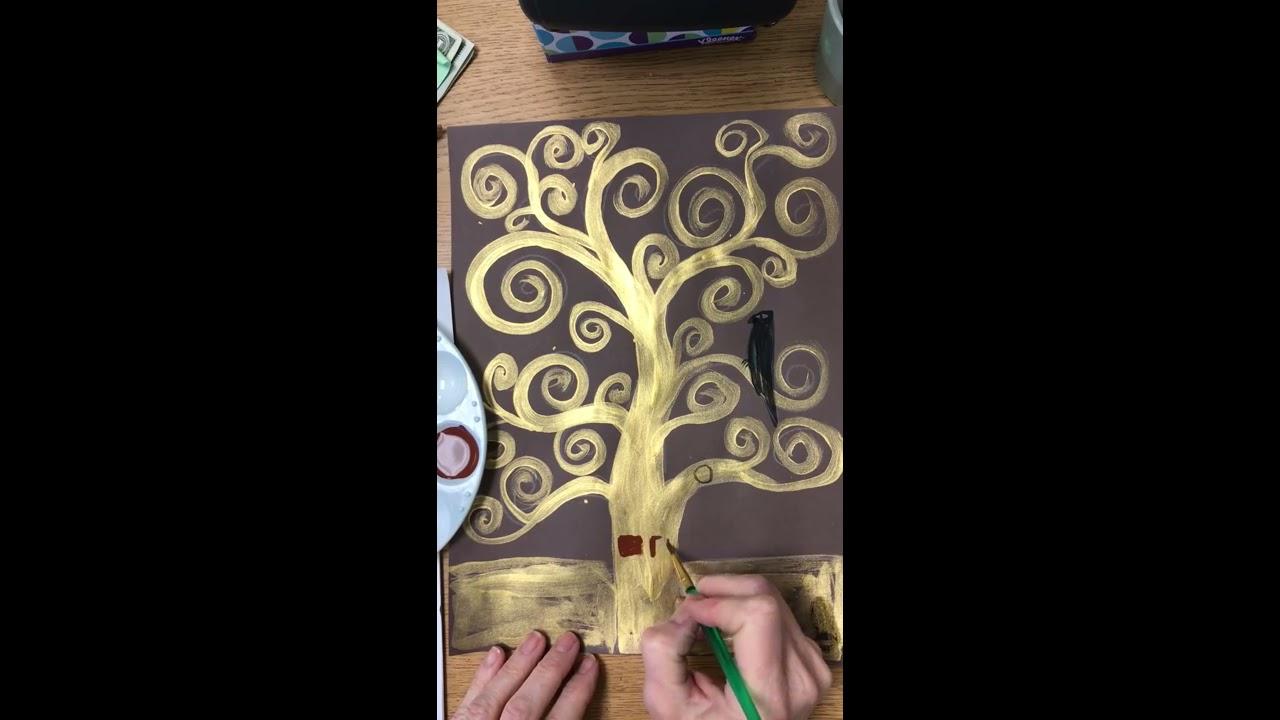 Gustav Klimt Tree of Life - YouTube