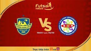 Futsal HDBank 2018: Sanna Khánh Hòa - Hải Phương Nam ĐHGĐ (Lượt về)