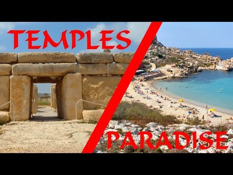 Diving in Paradise Bay and Ancient Temples ! - The Malta Adventure #4