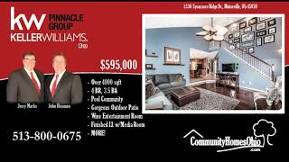 4 Bed 3.5 Bath Luxury Home for Sale in Miami Bluffs  1530 Sycamore Ridge Dr, Mainevile OH