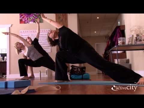 Working Within - Yoga at Breathe Into Motion