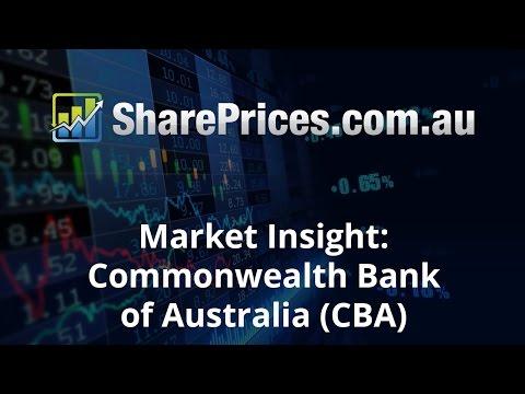 Share Prices Market Insight: Commonwealth Bank of Australia (CBA) 1/11/16