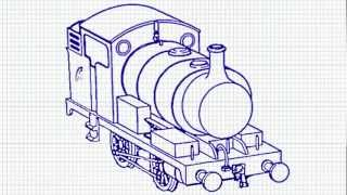 how to draw thomas - The Train Engine - Oops! I think it