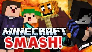 Nein! Nicht da drauf! | Minecraft Smash