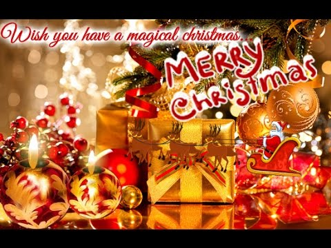 christmas ecard 2017 video greeting card for whatsapp - Christmas Wishes Video