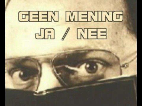 Ton Lebbink - Geen Mening JA / NEE