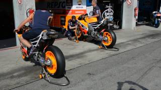 MotoGP Engine Sound - Honda RC213V 2016, Honda Repsol Team