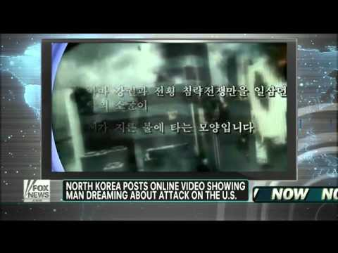 North Korea : Post Video of New York in Flames After Nuclear Attack on America (Feb 05, 2013)