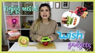 Δοκιμάζω περίεργα Gadgets από το Wish | katerinaop22