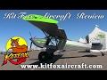 KitFox, Kitfox Aircraft Review by Dan Johnson, Copperstate Flyin.
