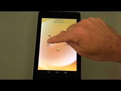 Nexus 7 With Ectaco Language Teaching And Translation Software. Suite For Android Phones \u0026 Tablets.