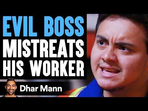 Evil BOSS MISTREATS His WORKER ft. @Benny Soliven    Dhar Mann