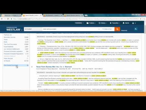 Firm Central Integrated Search in Westlaw
