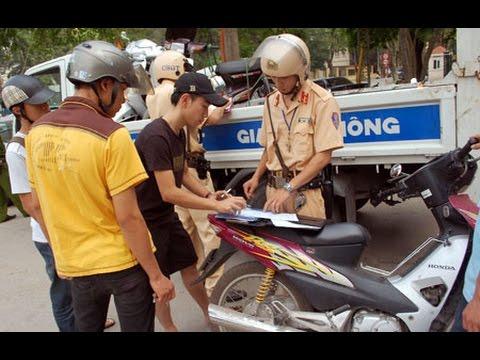 Hình ảnh người Cảnh sát Giao thông