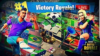 New FIFA WORLD CUP Skins New Blockbuster Skin Unlocking Fortnite Battle Royale Road To 2.7K