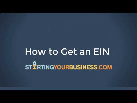 How To Get An EIN For Your Business